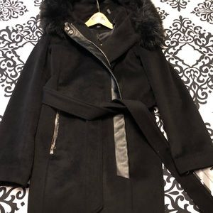 Karl Lagerfeld Jackets & Coats - Karl Lagerfeld Asymmetrical Wool Coat (Small)